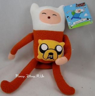 Adventure Time With Finn and Jake Nightime Finn Plush Toy Doll 10 W