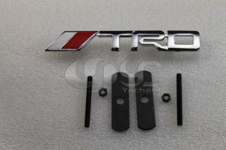 TRD Front Grill Badge Logo Emblem TOYOTA SUPRA PRIUS VOIS COROLLA MK5