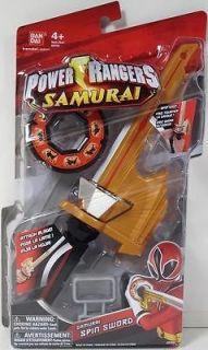 Power Rangers Samurai SPIN SWORD NIP MEGA RANGER MIGHTY MORPHIN MMPR