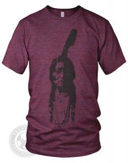 Vintage SITTING BULL Indian Chief Native American Apparel TR401 Track