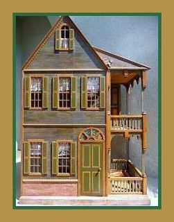 NEW Dollhouse All Wood 16 18 Sasha/American girl doll