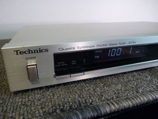 Technics ST S4   Reconditioned AM/FM Digital Tuner