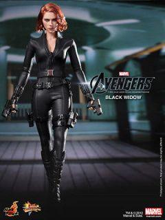 Hot Toys 1/6 Marvel The Avengers   Black Widow Scarlett Johansson