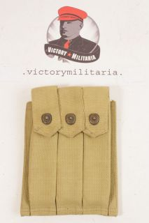 Minty WWII US Thompson Sub Machine Gun Ammo Pouch