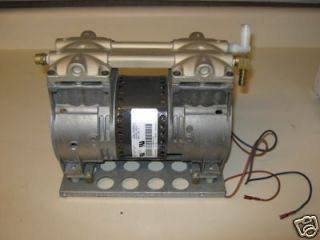 Thomas Compressor Vacuum Pump 2650 2660 Pond Aerate With 110 v Power