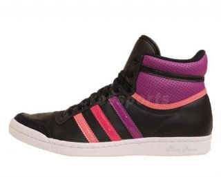 Adidas Top Ten 10 Hi Seek W Black Purple New 2012 Womens Casual Shoes