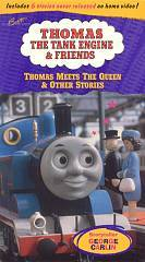 Thomas the Tank Engine   Thomas Meets the Queen and Other Stories VHS