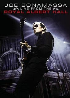 Joe Bonamassa Live from the Royal Albert Hall DVD, 2009, 2 Disc Set