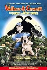 Wallace Gromit The Curse of the Were Rabbit VHS, 2006
