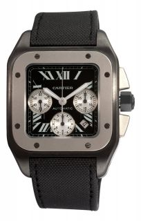 CARTIER Santos 100 AUTOMATIC Chronograph Gents Watch W2020005 RRP £