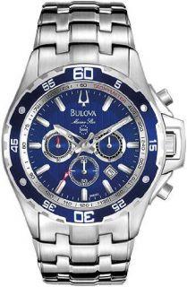 Bulova Marine Star Blue Dial Divers Watch   98B163