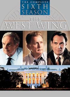 The West Wing   The Complete Sixth Season DVD, 2006, 6 Disc Set