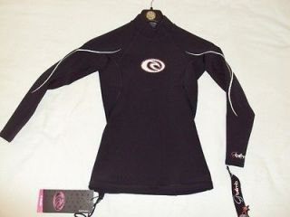 NEW RIP CURL SURF WEAR WOMEN NEOPRENE G BOMB LONG SL JACKET SWIMSUIT