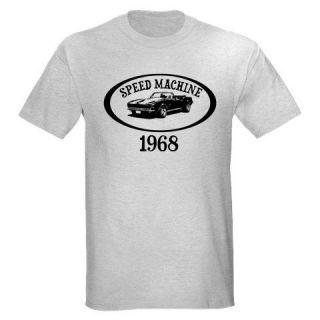 68 1968 CHEVY CAMARO SPEED MACHINE CLASSIC CAR MUSCLE T SHIRT