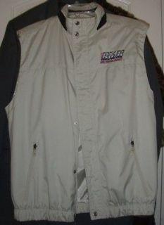 North End Mens Jacket Vest Light Tan Size M Rocky Mountain Raceway