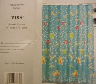 tropical fish shower curtains in Shower Curtains
