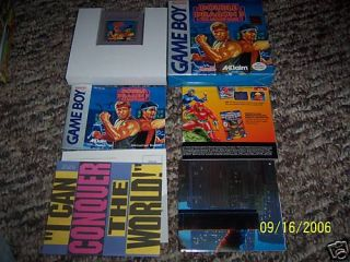 Double Dragon III The Arcade Game (Game Boy) COMPLETE