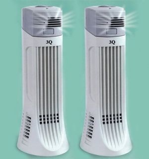 TWO NEW IONIC AIR PURIFIER PRO FRESH IONIZER BREEZE OZONE CLEANER 01