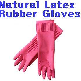 Rubber Latex Kitchen Long Gloves Cheap Washing Cleaning Skincare Pink
