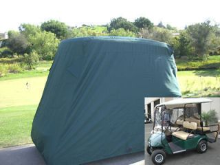 Passengers Golf Cart Cover, Fit EZ Go,Club Car,Yamaha. Green