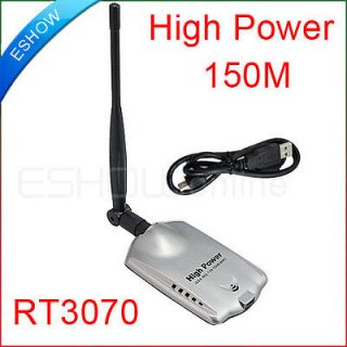 New 150Mbps WiFi Wireless Network Card Adapter USB High Power 150M