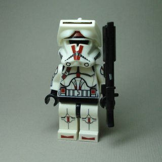 LEGO Star Wars Deviss Commander Clone Trooper Captain Plain Rare