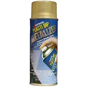 NEW 11211 6 GOLD METALLIC 11OZ PLASTI DIP RUBBER HANDLE SPRAY COATING