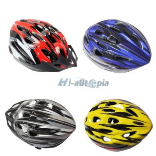 NEW Cycling Bicycle Adult Mens Bike Helmet Four colour With Visor