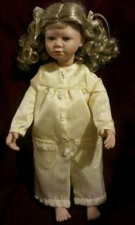 Vintage christine Orange collectible doll 46/500