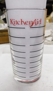 KITCHEN AID MEASURING GLASSES MISPRINTS OLD STYLE COFFEE GRINDER