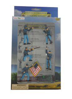 /Historical Civil War Era Union Army Figures Collectibles Toys Set #1