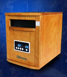 Diva Tranquility 1500 Watts Vintage Style Portable Infrared Heater
