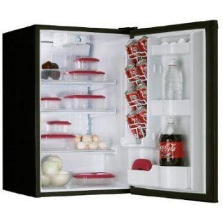 Cubic Energy Star Compact Mini Fridge Refrigerator in Designer Black
