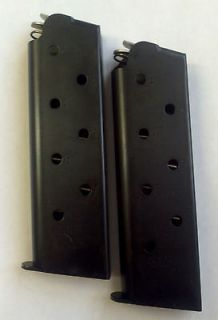 Colt 1911 45acp 8 RD Round Magazines/Clips (Mag/Clip) Blued Steel
