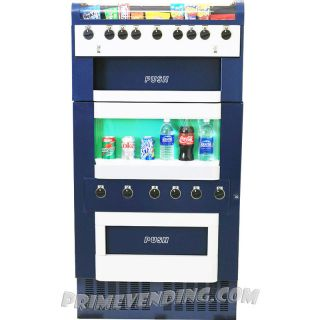 Soda + Snack Candy Combination Vending Machine Combo Food & Drink