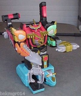 Bandai Power Rangers Deluxe Isis Command Megazord w/Red Power Ranger
