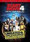 Scary Movie 4 (DVD, 2006, Unrated, Full Frame Edition) New Uncensored