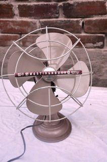 Vintage Westinghouse Electric Dominian Industrial steampunk Fan