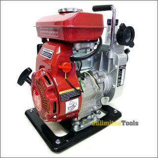 Water Pump Trash 1.5 NPT 97cc 4 Stroke Air Cooled Gasoline Industrial