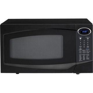Sharp R 303TKC 1.0 Cu. Ft. 1100W Digital Microwave Oven Black