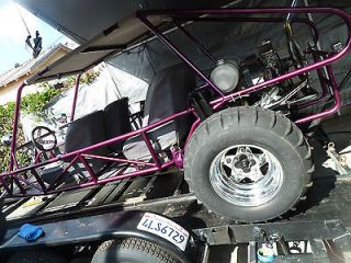 Dune buggy sand rail 5 seater factory frame