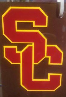 USC Trojan SC Logo PAC 12 Window vinyl sticker decal Southern