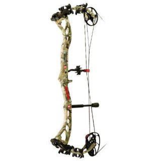 PSE 1207MPLIF2970 Bow Madness XS Left Hand Bow, 70 Pound, Mossy Oak