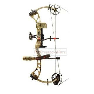 PSE Bow Madness XS Compound Bow Ready To Shoot Package 29 60# RH