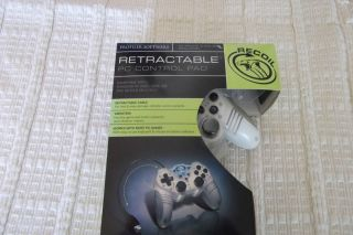 New in Box Game Elements Retractable PC Control Pad
