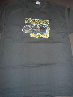 FU MANCHU Boogie Van T Shirt **NEW tour concert band music 2XL XXL