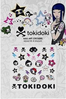 NEW tokidoki Nail Art Stickers Adios & Friends 2 SHEETS x 28 Stickers