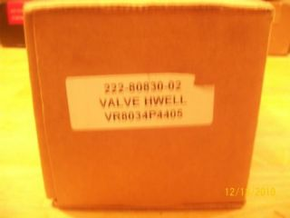 Bradford White Water Heater Gas Valve VR8034P4405 New
