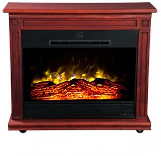 Manor Cherry Heat Surge Roll n Glow EV.2 Electric Amish Fireplace