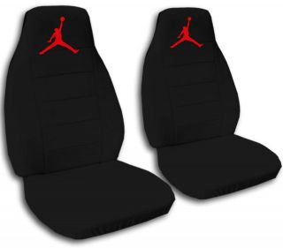 cool set Jumpman symbol front car seat covers choose,BACK SEAT COVER
